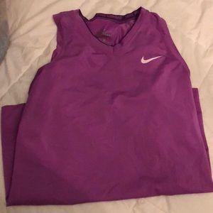Light purple athletic top